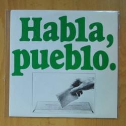 VINO TINTO - HABLA PUEBLO / POETA - SINGLE