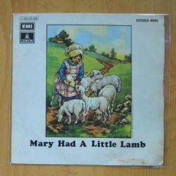 PAUL McCARTNEY & WINGS - MARY HAD A LITTLE LAMB - SINGLE