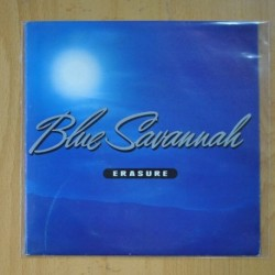 ERASURE - BLUE SAVANNAH / RUNAROUND ON THE UNDERGROUND - SINGLE