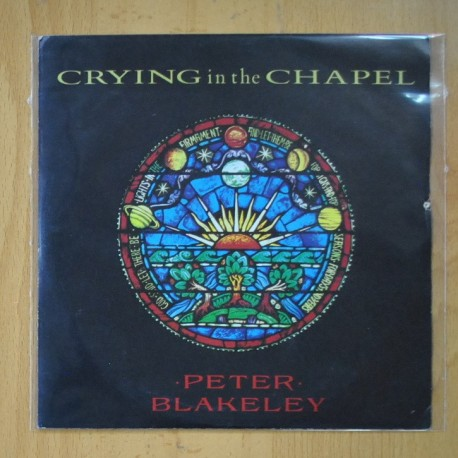 PETER BLAKELEY - CRYING IN THE CHAPEL / CATERINA - SINGLE