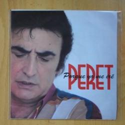 PERET - PORQUE YO ME IRE - SINGLE
