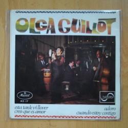 OLGA GUILLOT - ESTA TARDE VI LLOVER + 3 - EP