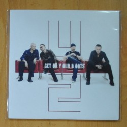 U2 - GET ON YOUR BOOTS / NO LINE ON THE HORIZONS - SINGLE