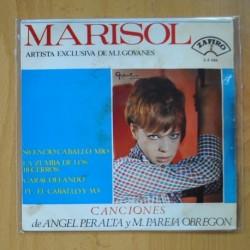 MARISOL - SILENCIO CABALLO MIO + 3 - EP