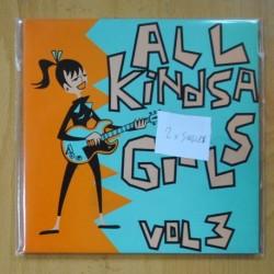 MAMBOTAXI, THE HYPERDRIVE KITTENS, THE 5.6.7.8´S - ALL KINDSA GIRLS VOL 3 - 2 SINGLES