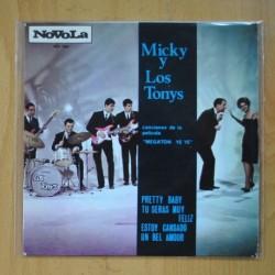 MICKY Y LOS TONYS - MEGATON YE YE B.S.O. - PRETTY BABY + 3 - EP
