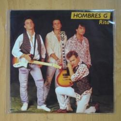 HOMBRES G - RITA / VOY A HABLAR CON EL - SINGLE