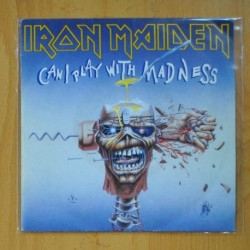 IRON MAIDEN - CAN I PLAY WITH MADNESS / BLACK BART BLUES - SINGLE