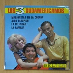 LOS 3 SUDAMERICANOS - MARIONETAS EN LA CUERDA + 3 - EP