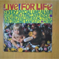 VARIOS - LIVE FOR LIFE - LP