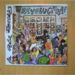 LA POLLA RECORDS - REVOLUCION - LP