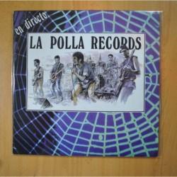 LA POLLA RECORDS - EN DIRECTO - LP