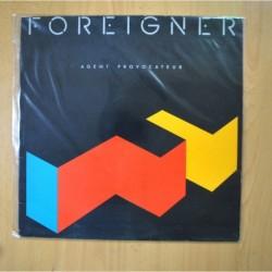 FOREIGNER - AGENT PROVOCATEUR - LP