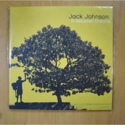JACK JOHNSON - IN BETWEEN DREAMS - GATEFOLD - LP