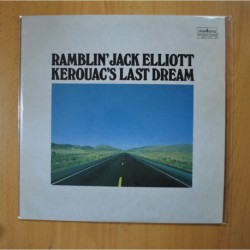 RAMBLIN JACK ELLIOTT - KEROUAC´S LAST DREAM - LP