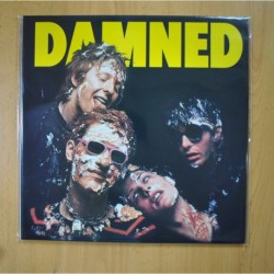 THE DAMNED - DAMNED DAMNED DAMNED - CLEAR VINYL - LP