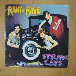 STRAY CATS - RANT N´ RAVE - LP