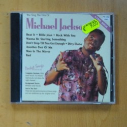 VARIOS - YOU SING THE HITS OF MICHAEL JACKSON - CD