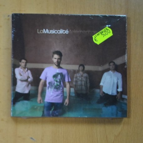 LA MUSICALITE - 4 ELEMENTOS - CD
