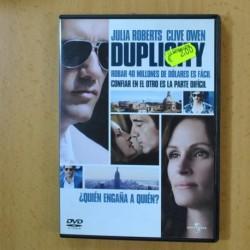 DUPLICITY - DVD