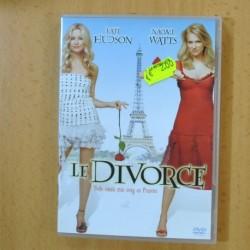 LE DIVORCE - DVD