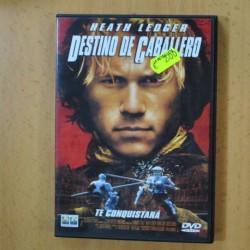 DESTINO DE CABALLEROS - DVD