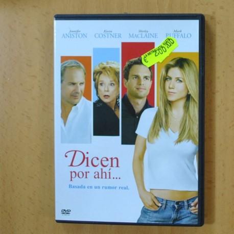 DICEN POR AHI - DVD