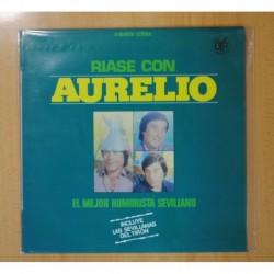 AURELIO - RIASE CON AURELIO - LP