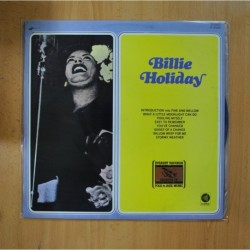 BILLIE HOLIDAY - BILLIE HOLIDAY - LP