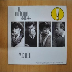 THE MANHATTAN TRANSFER - VOCALESE - LP
