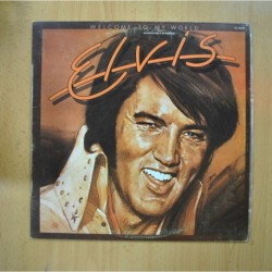 ELVIS PRESLEY - WELCOME TO MY WORLD - LP