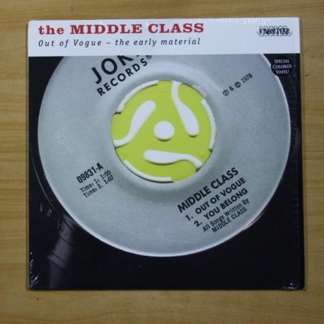 THE MIDDLE CLASS - OUT OF VOGUE - VINILO ROJO - LP