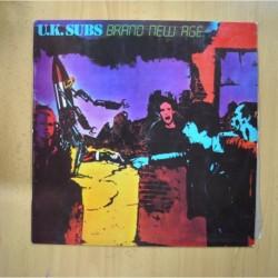 U.K. SUBS - BRAND NEW AGE - LP