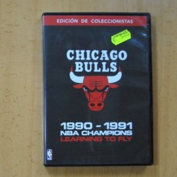 CHICAGO BULLS - 1990 1991 NBA CHAMPIONS LEARNING TO FLY - DVD