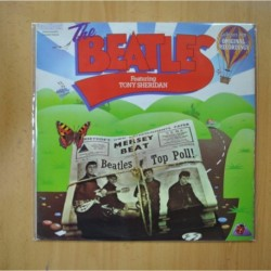 THE BEATLES - FEATURING TONY SHERIDAN - LP