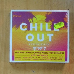 CHILL OUT EXPERIENCE - VARIOS - 4 CD