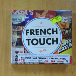 FRENCH TOUCH - VARIOS - 4 CD