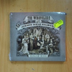 THE WRONCLERS WITH JIMMIE DALE GILMORE - HEIRLOOM MUSIC - CD