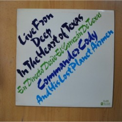 COMMANDER CODY AND HIS LOST PLANET AIRMEN - LIVE FROM DEEP IN THE HEART OF TEXAS - LP