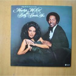 MARILYN MCCOO & BILLY DAVIS JR - I HOPE WE GET TO LOVE IN TIME - GATEFOLD - LP