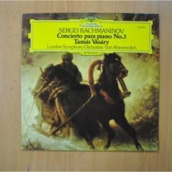 SERGEI RACHMANINOV - CONCIERTO PARA PIANO NO 3 - LP