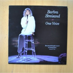 BARBRA STREISAND - ONE VOICE - LP