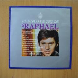 RAPHAEL - EL DISCO DE ORO - LP