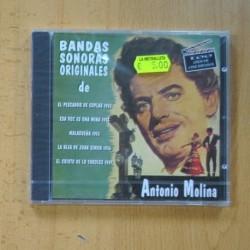 ANTONIO MOLINA - BANDAS SONORAS ORIGINALES - CD