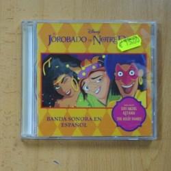 VARIOS - EL JOROBADO DE NOTRE DAME - CD