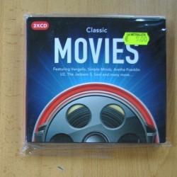 VARIOS - CLASSIC MOVIES - 3 CD