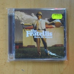 THE FRATELLIS - HERE WE STAND - CD