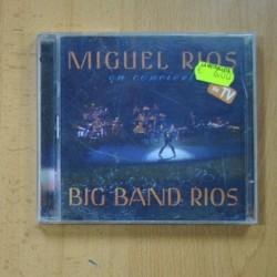 MIGUEL RIOS - EN CONCIERTO BIG BAND RIOS - CD