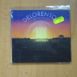 DELORENTOS - NIGHT BECOMES LIGHT - CD