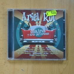 ARIEL ROT - DUOS TRIOS Y OTRAS PERVESIONES - CD
